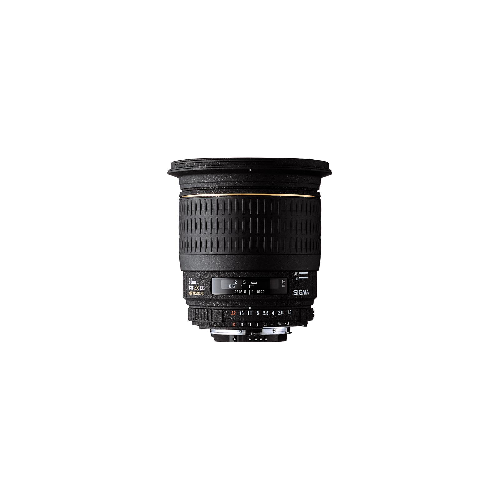 Объектив Sigma 20/1,8 EX Aspherical DG Nikon (411944)