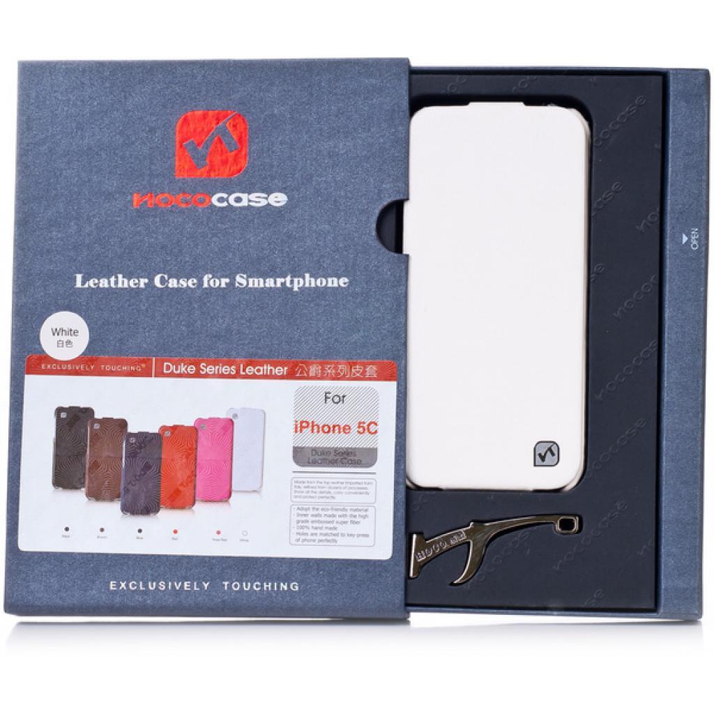 Чехол для моб. телефона HOCO для iPhone 5C /Duke flip (HI-L039 White)