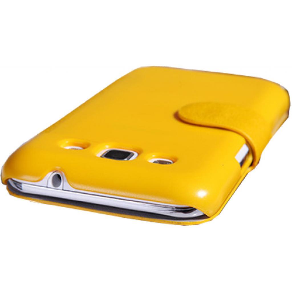 Чехол для моб. телефона NILLKIN для Samsung I8552 /Fresh/ Leather/Yellow (6076967) изображение 2
