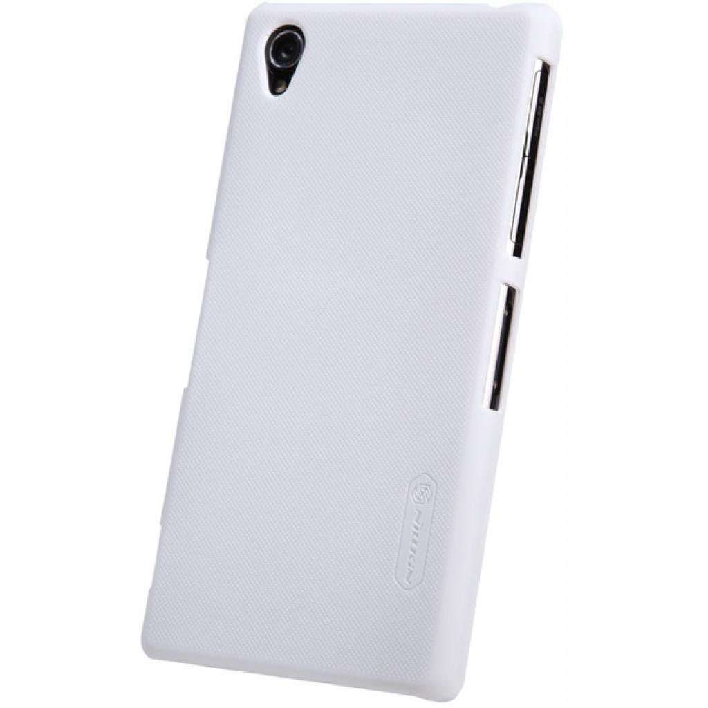 Чехол для моб. телефона NILLKIN для Sony Xperia Z1 /Super Frosted Shield/White (6088777) изображение 2