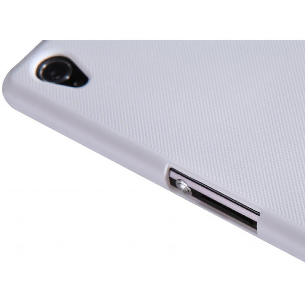 Чехол для моб. телефона NILLKIN для Sony Xperia Z1 /Super Frosted Shield/White (6088777) изображение 5