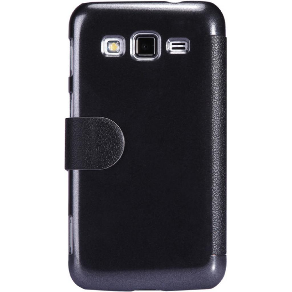 Чехол для моб. телефона NILLKIN для Samsung I8580 /Fresh/ Leather/Black (6147158) изображение 4