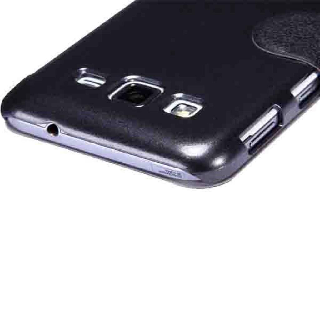 Чехол для моб. телефона NILLKIN для Samsung I8580 /Fresh/ Leather/Black (6147158) изображение 5