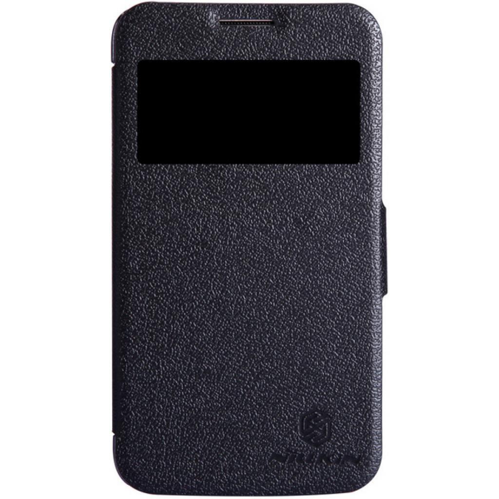 Чехол для моб. телефона NILLKIN для Samsung I8580 /Fresh/ Leather/Black (6147158)