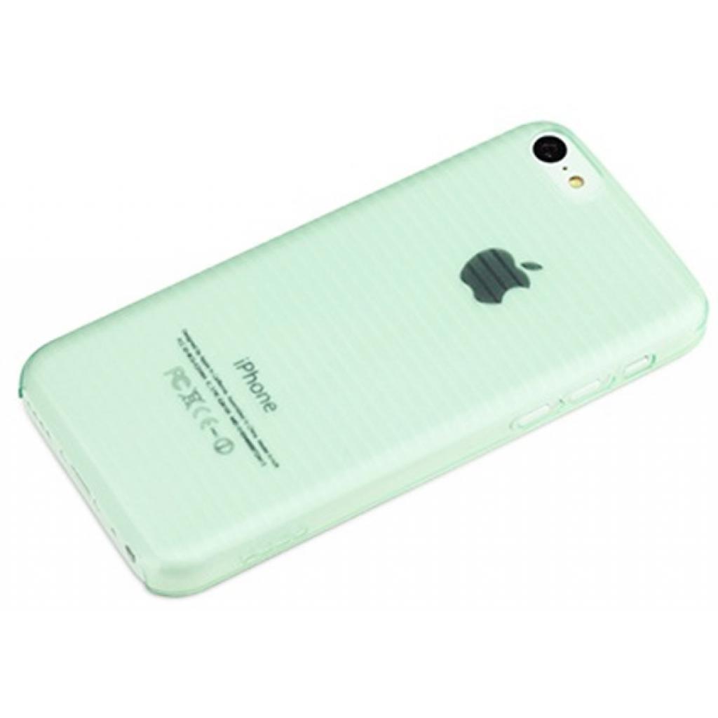 Чехол для моб. телефона Rock iPhone 5C Texture series ultra thin protective shell green (iPhone 5C-56453)