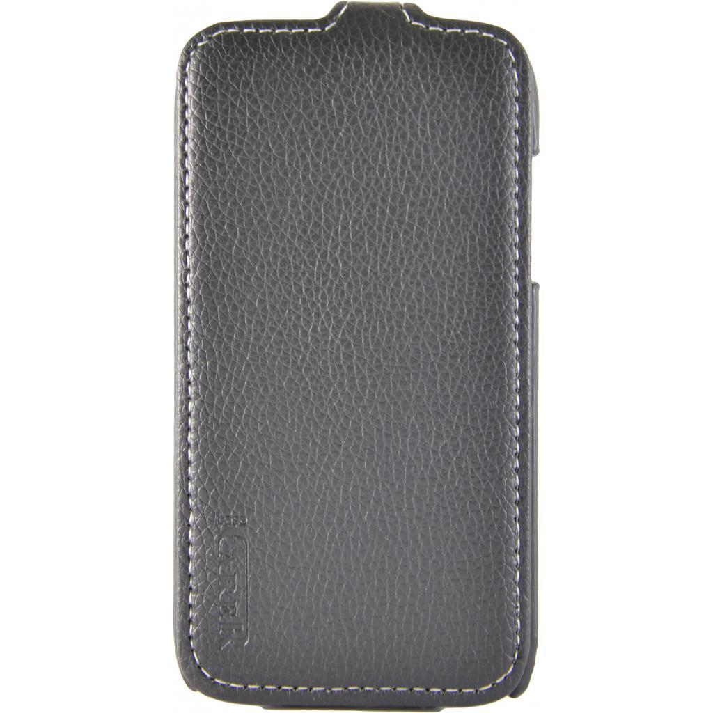 Чехол для моб. телефона Carer Base Lenovo A369 black (Carer Base lenovo A369)