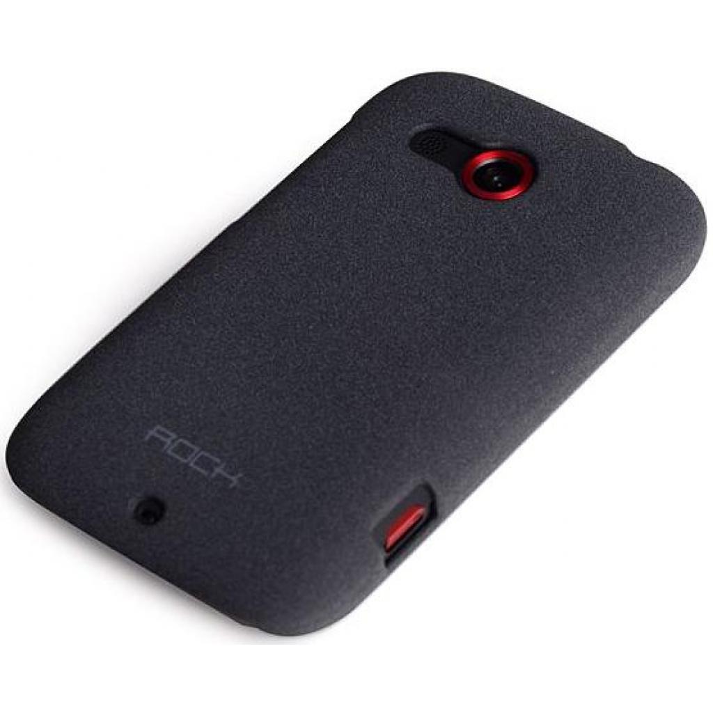 Чехол для моб. телефона Rock HTC desire c quicksand series Dark grey (desire c-35335)