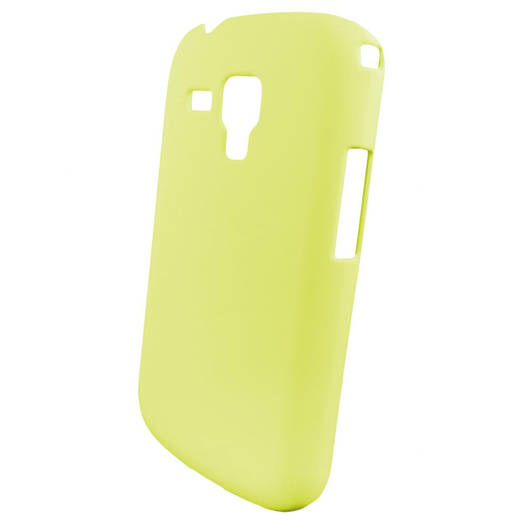 Чехол для моб. телефона GLOBAL для Samsung S7562 Galaxy S Duos (желтый) (1283126445064)