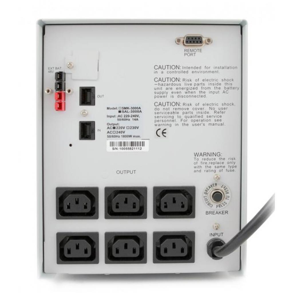Источник бесперебойного питания Powercom SAL-3000A изображение 3