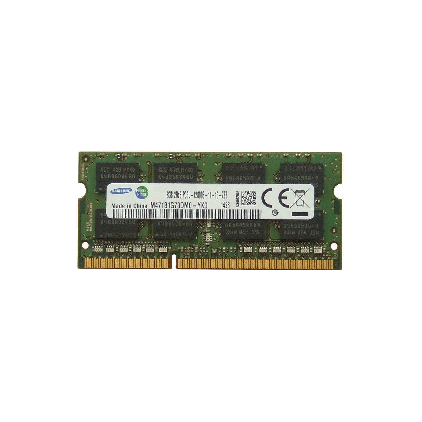 Модуль памяти для ноутбука SoDIMM DDR3 8GB 1600 MHz Samsung (M471B1G73DM0-YK0)