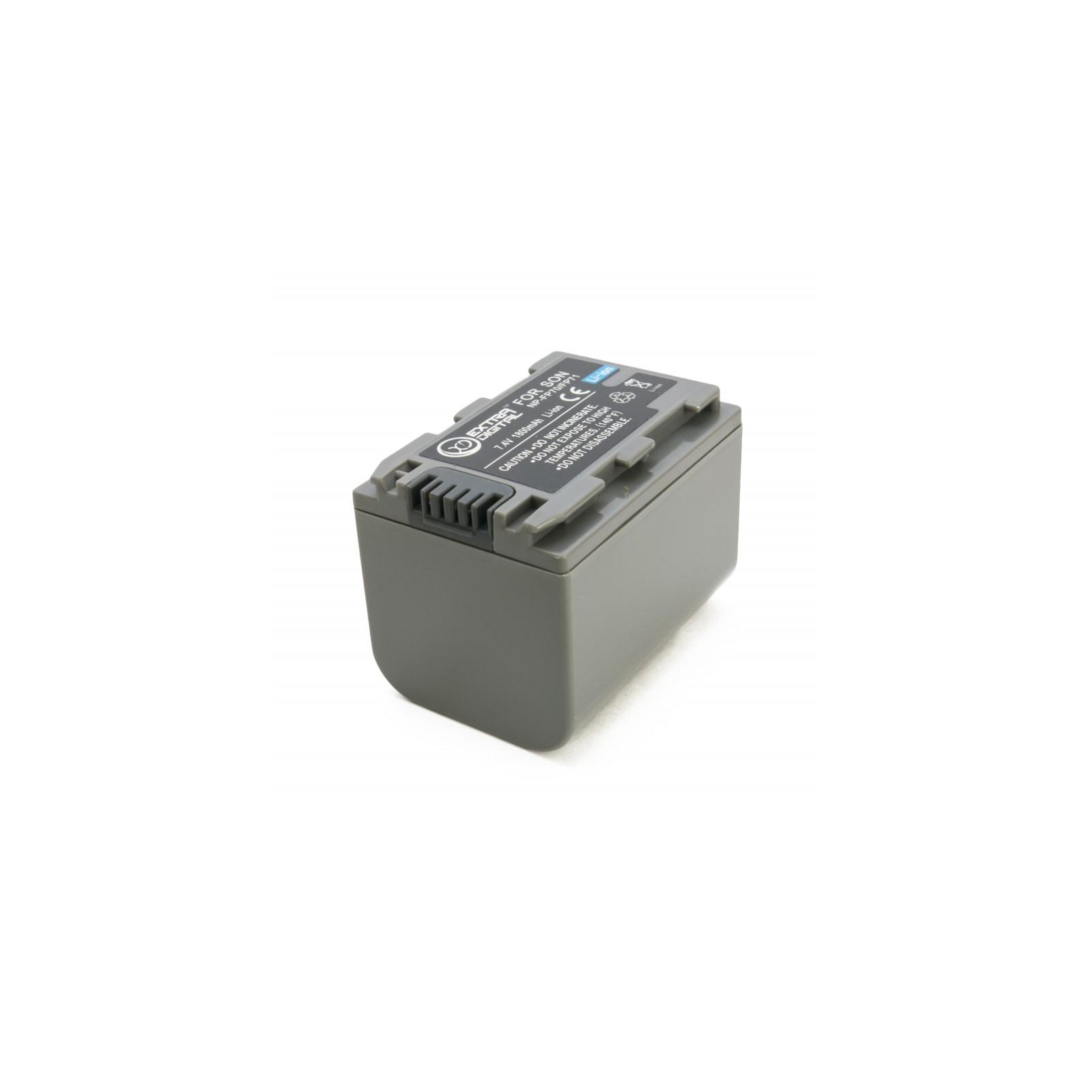 Аккумулятор к фото/видео EXTRADIGITAL Sony NP-FP70 (BDS2668) изображение 4
