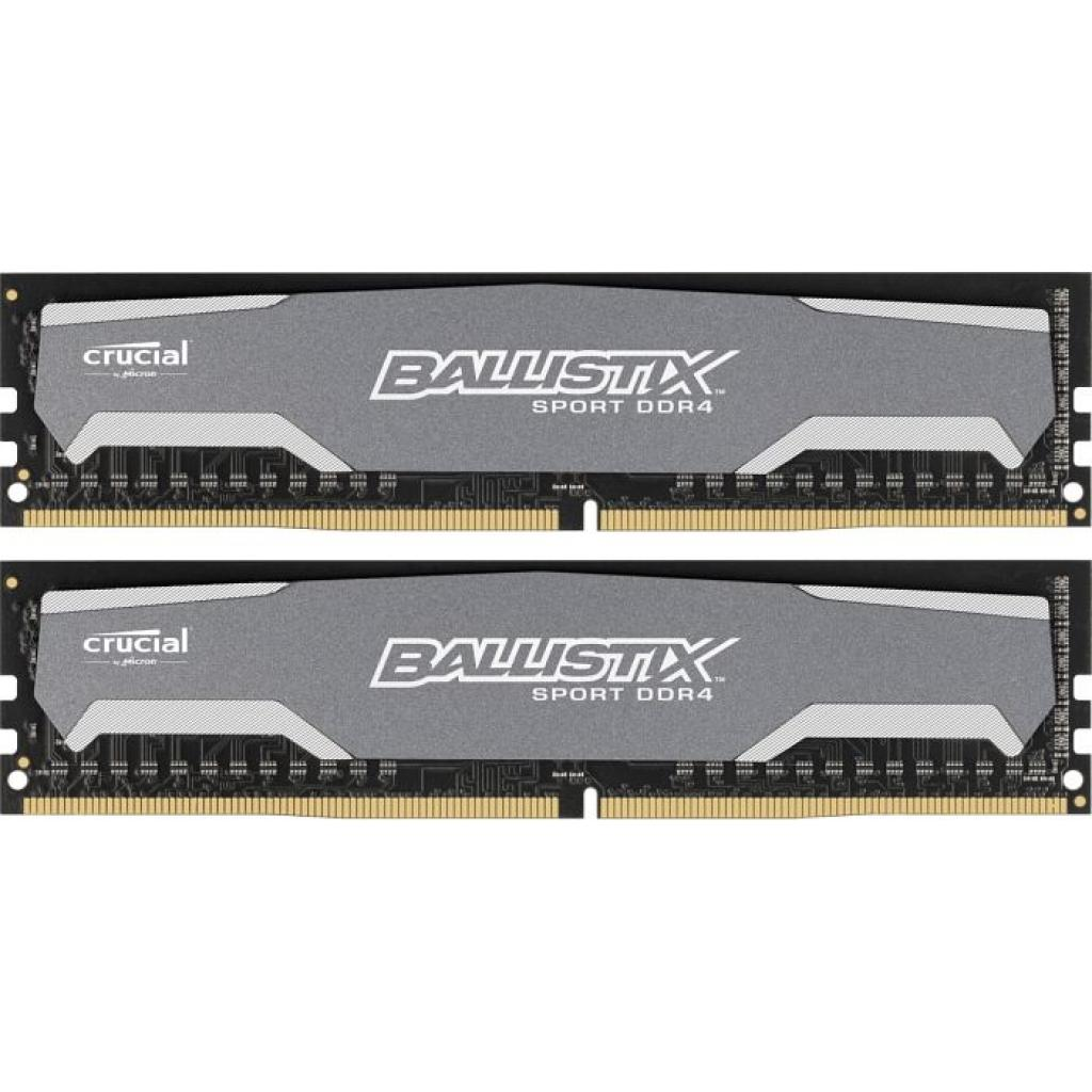 Модуль памяти для компьютера DDR4 8GB (2x4GB) 2400 MHz Ballistix Sport MICRON (BLS2C4G4D240FSA)