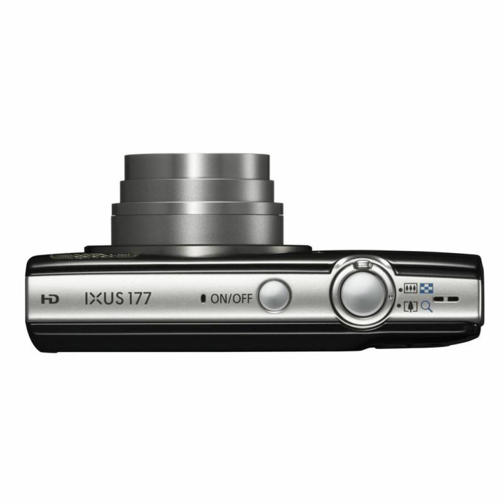 Цифровой фотоаппарат Canon IXUS 177 Black (1144C003) изображение 5