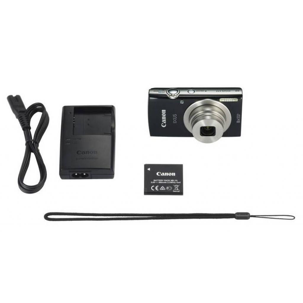 Цифровой фотоаппарат Canon IXUS 177 Black (1144C003) изображение 8