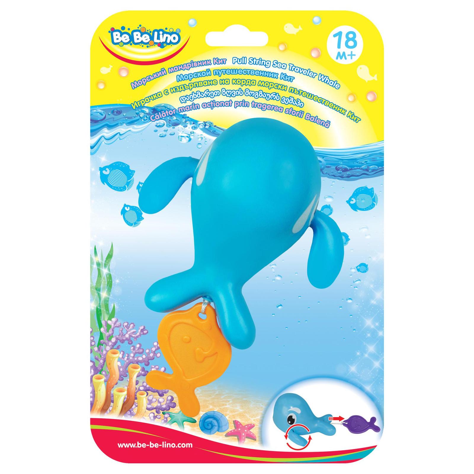 Игрушка для ванной BeBeLino Морской путешественник Кит (57079) изображение 3
