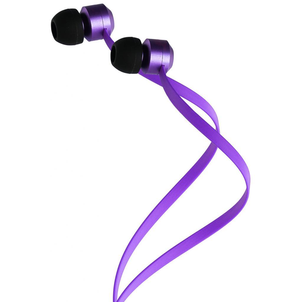 Наушники KitSound KS Ribbons In-Ear Earphones with Mic Purple (KSRIBPU) изображение 5