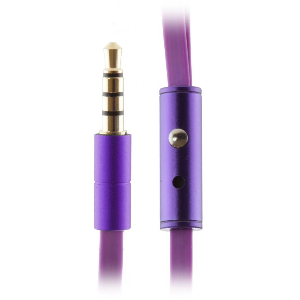 Наушники KitSound KS Ribbons In-Ear Earphones with Mic Purple (KSRIBPU) изображение 6