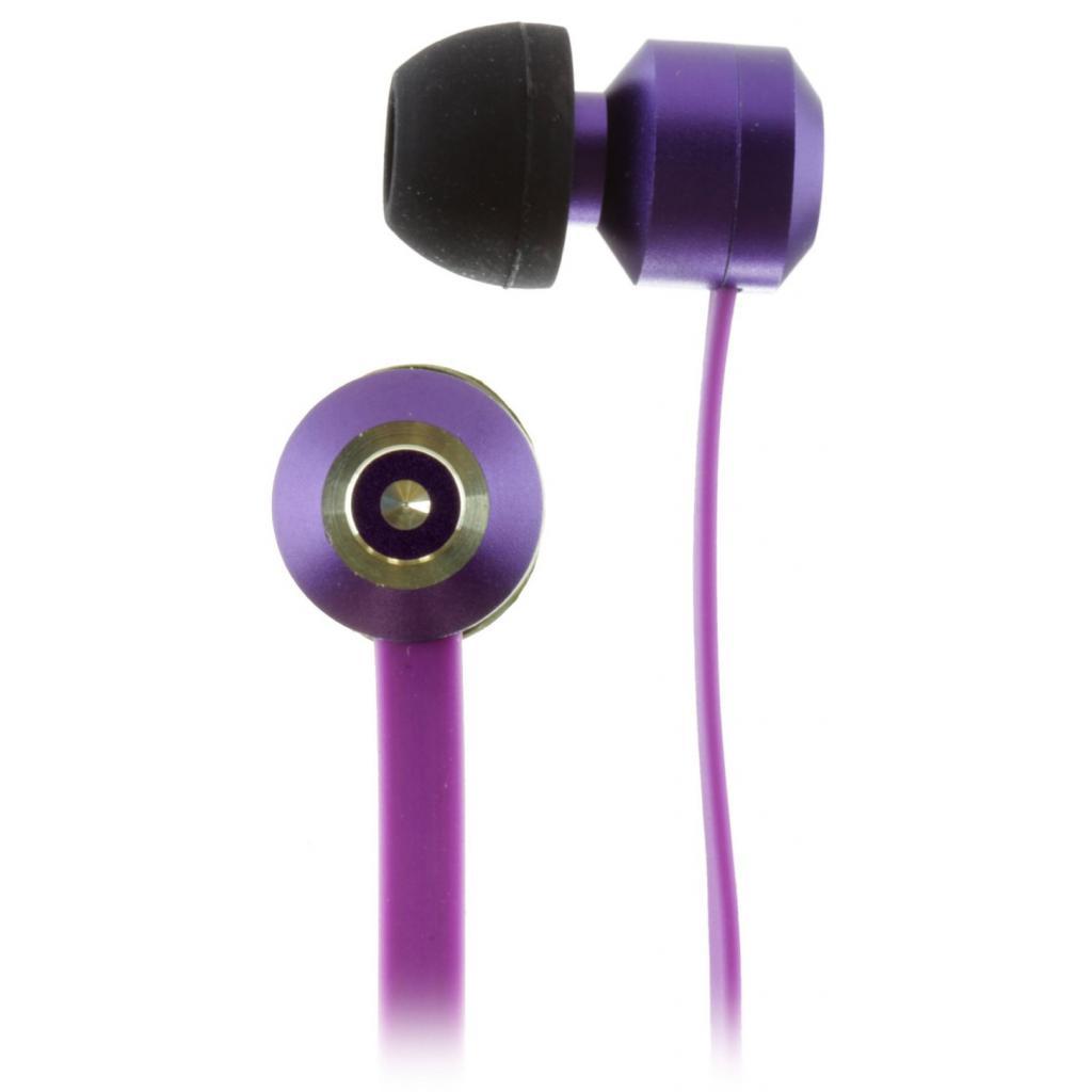 Наушники KitSound KS Ribbons In-Ear Earphones with Mic Purple (KSRIBPU) изображение 7