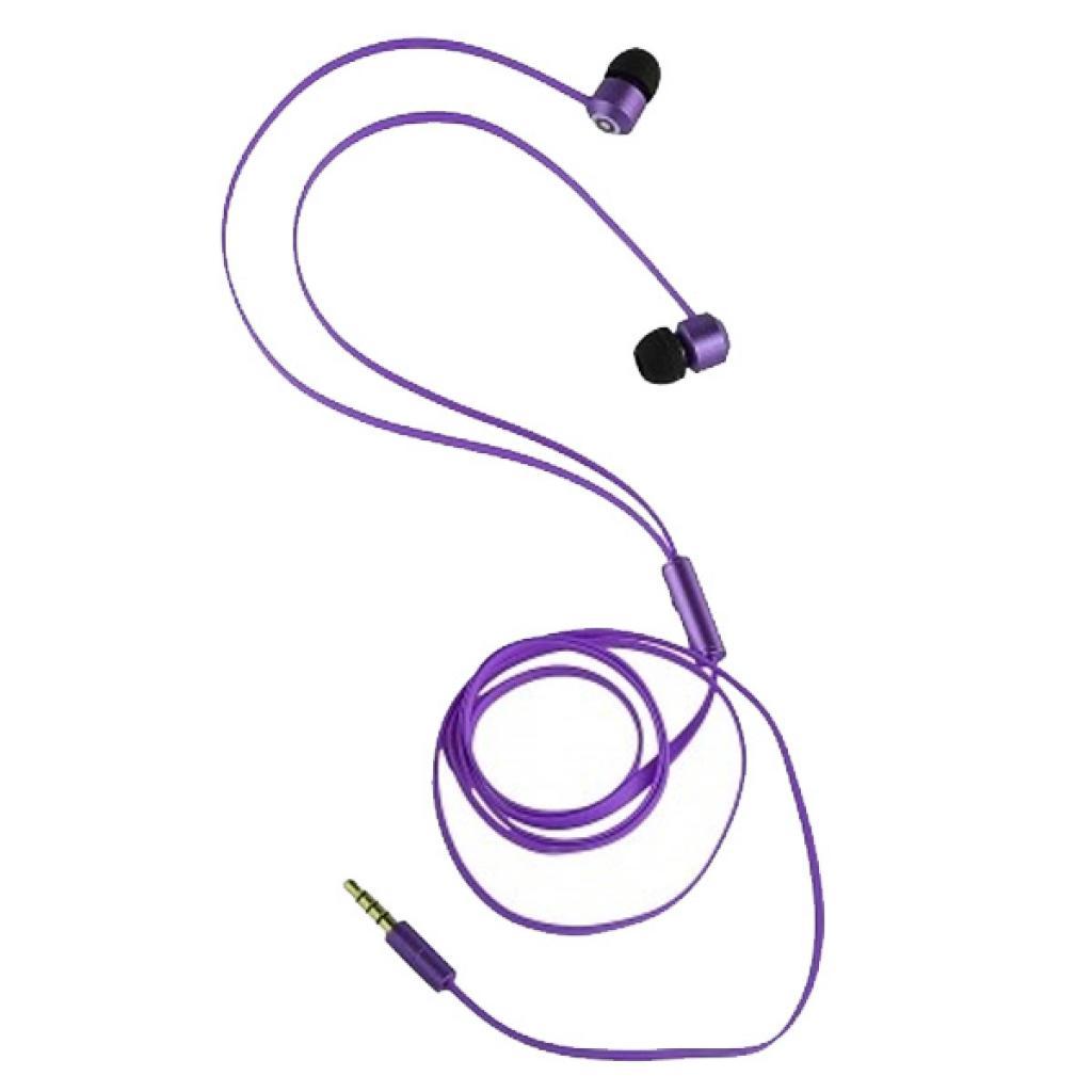 Наушники KitSound KS Ribbons In-Ear Earphones with Mic Purple (KSRIBPU) изображение 8