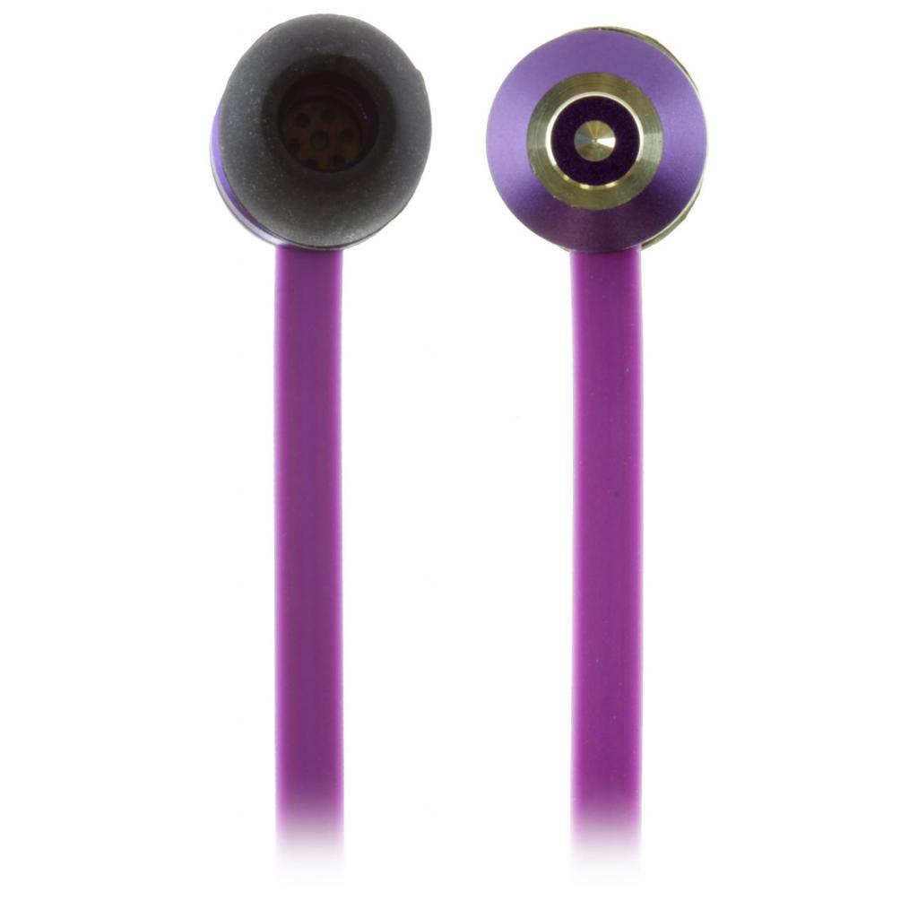 Наушники KitSound KS Ribbons In-Ear Earphones with Mic Purple (KSRIBPU) изображение 9