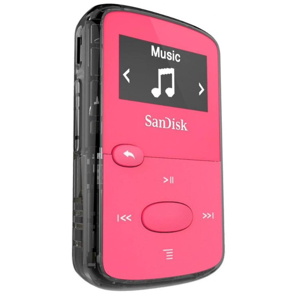 mp3 плеер SANDISK Sansa Clip JAM 8GB Pink (SDMX26-008G-G46P) изображение 2