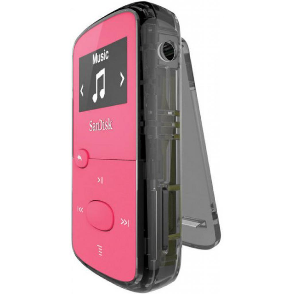 mp3 плеер SANDISK Sansa Clip JAM 8GB Pink (SDMX26-008G-G46P) изображение 4