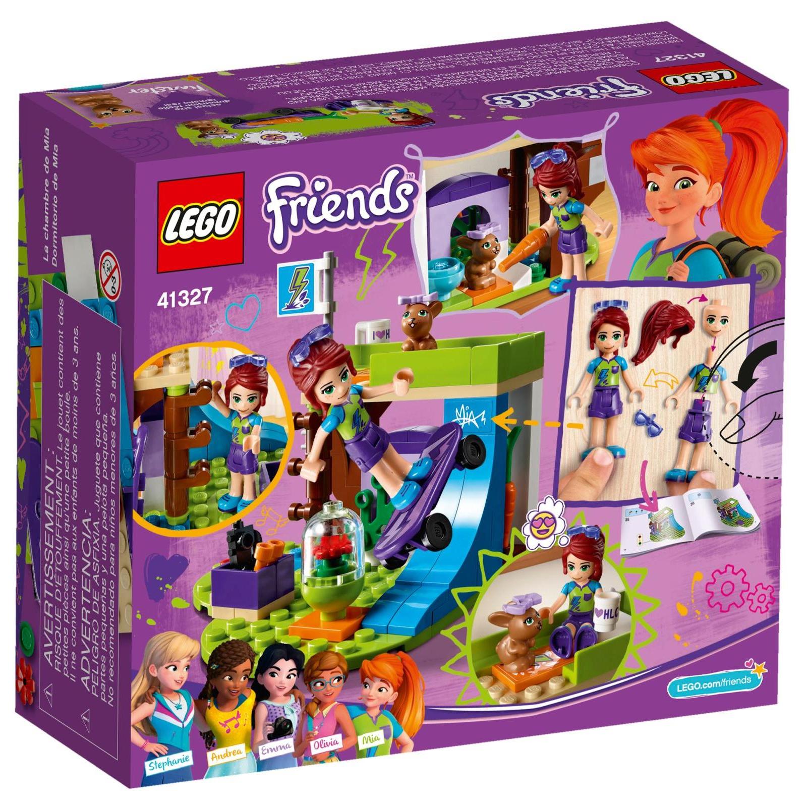 Конструктор LEGO Friends Спальня Мии (41327) изображение 8