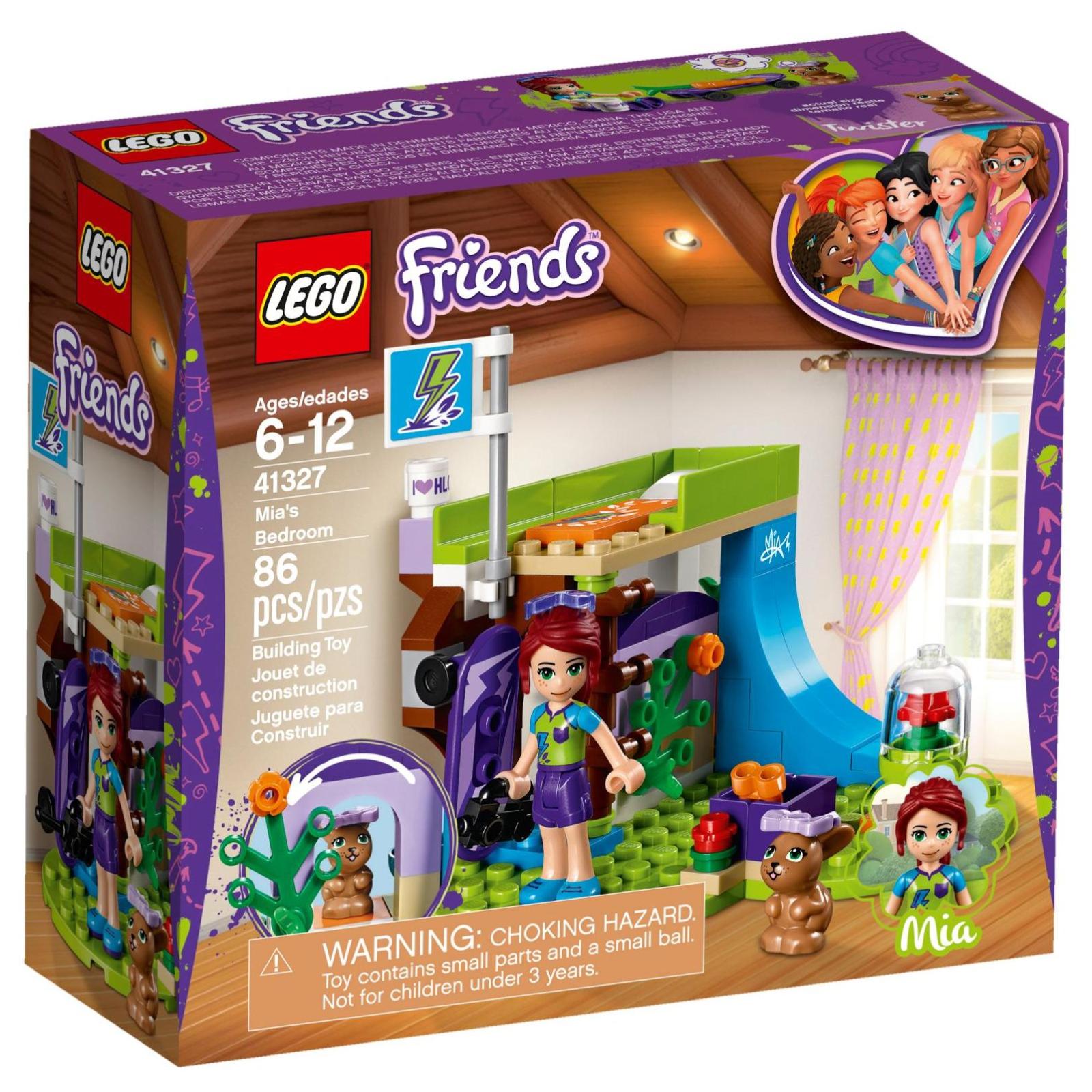 Конструктор LEGO Friends Спальня Мии (41327)