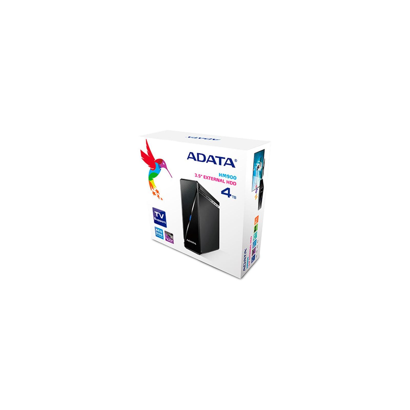 """Внешний жесткий диск 3.5"""" 4TB ADATA (AHM900-4TU3-CUSBK) изображение 5"""