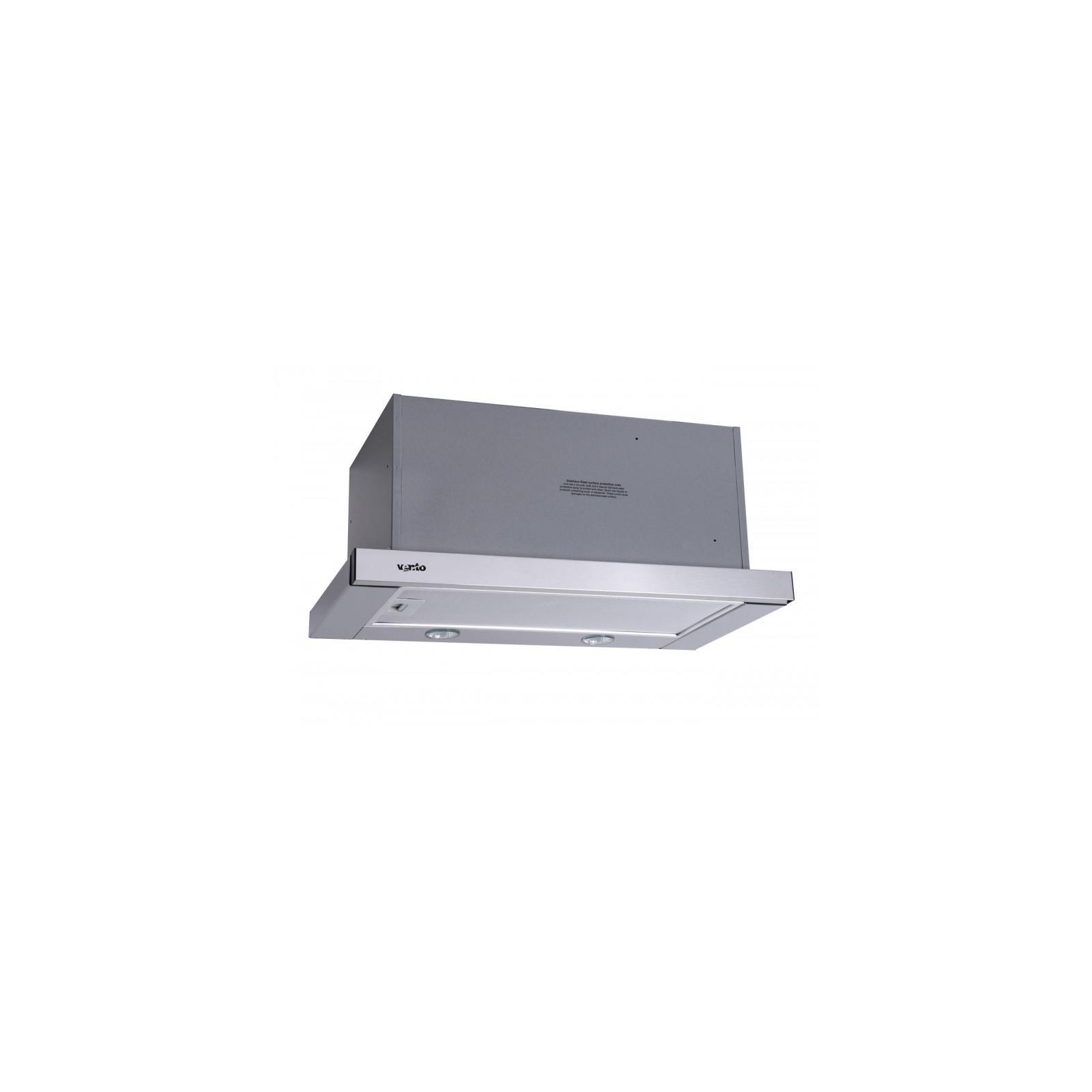 Вытяжка кухонная VENTOLUX GARDA 60 INOX (1000) EU изображение 2