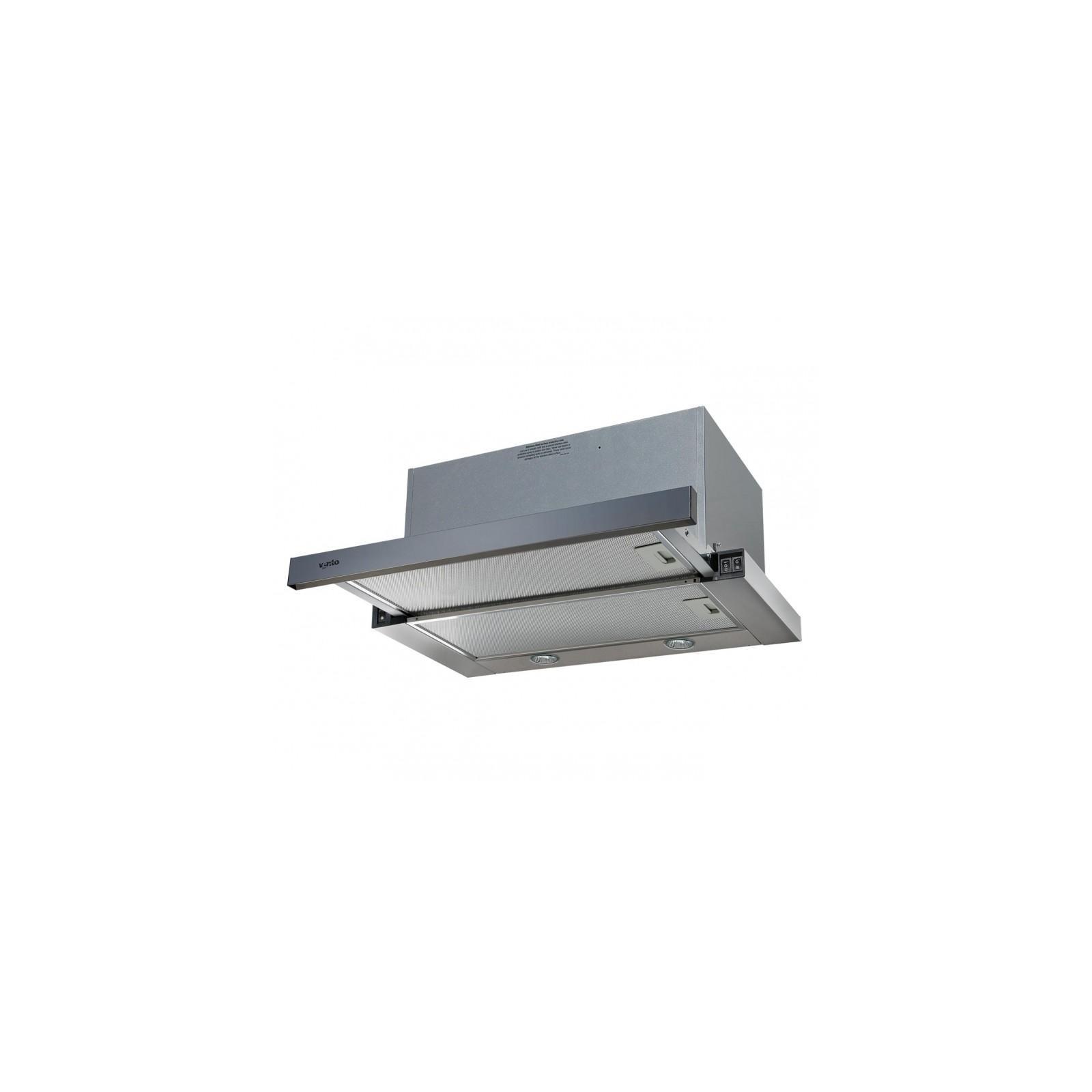 Вытяжка кухонная VENTOLUX GARDA 60 INOX (1000) EU