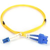 Оптичний патчкорд DIGITUS LC/UPC-SC/UPC,9/125,OS2,duplex,3m (DK-2932-03)