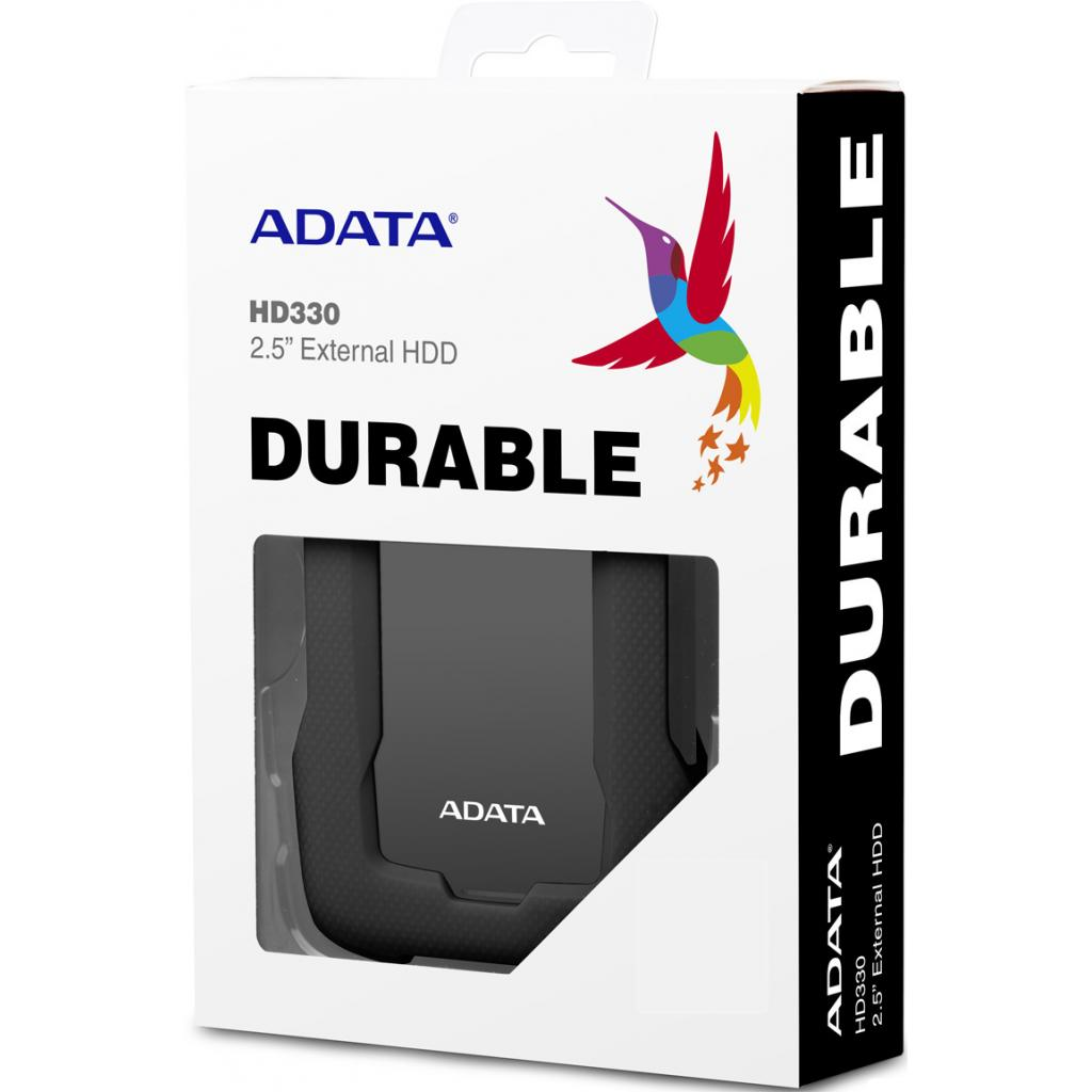 """Внешний жесткий диск 2.5"""" 1TB ADATA (AHD330-1TU31-CBL) изображение 4"""