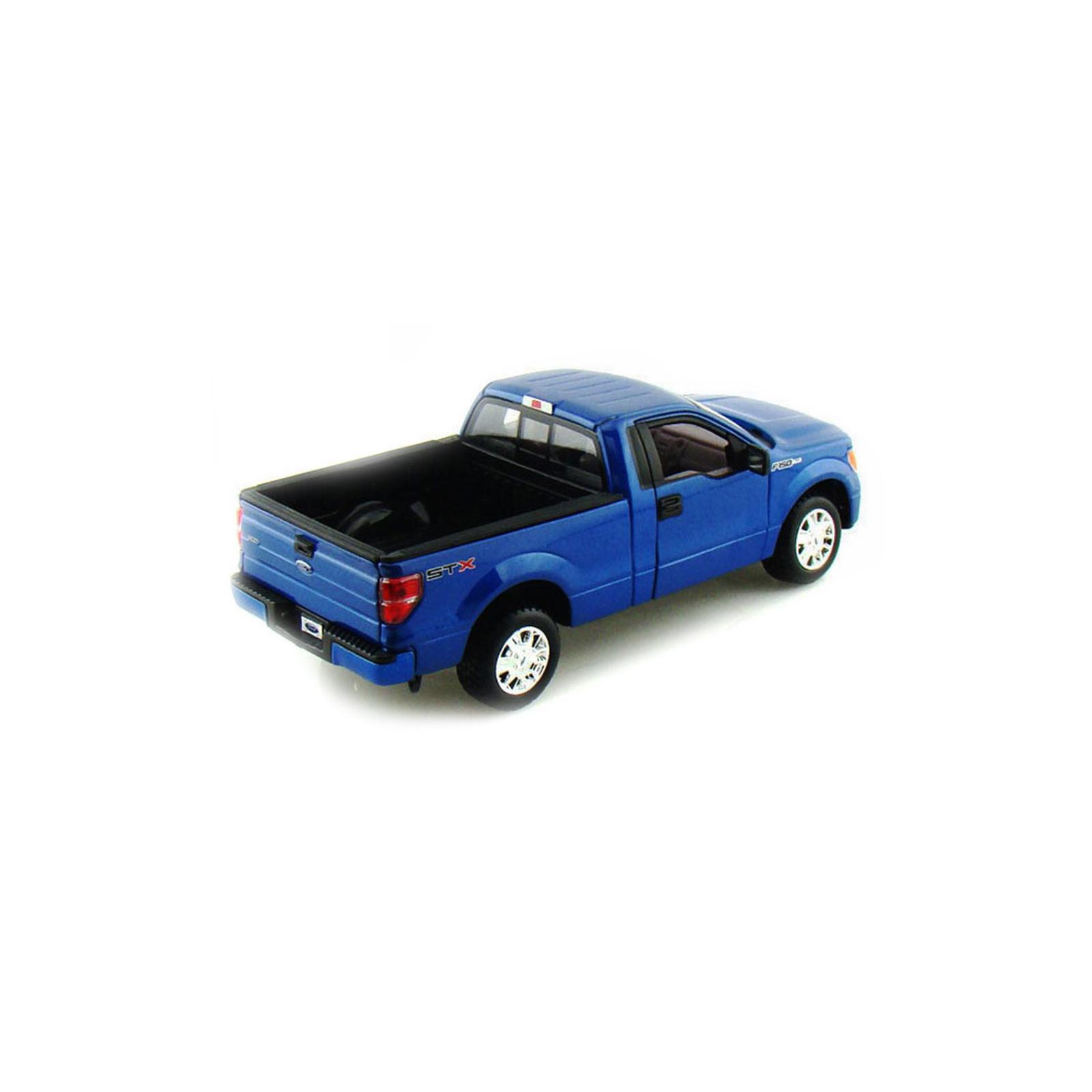 Машина Maisto Ford F-150 STX (1:27) синий металлик (31270 met. blue) изображение 2