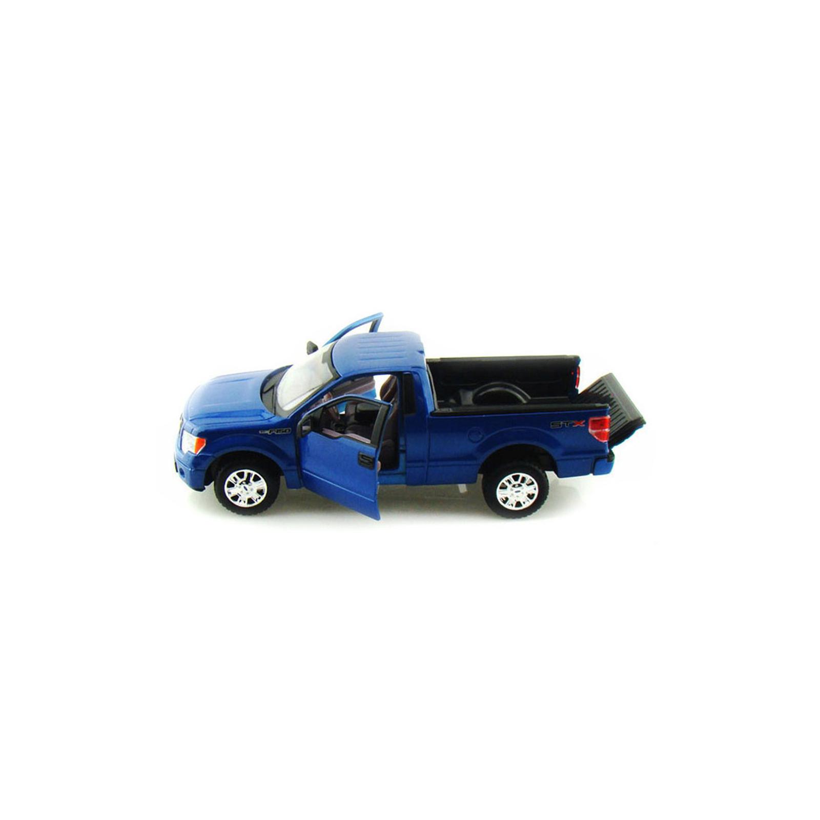 Машина Maisto Ford F-150 STX (1:27) синий металлик (31270 met. blue) изображение 3