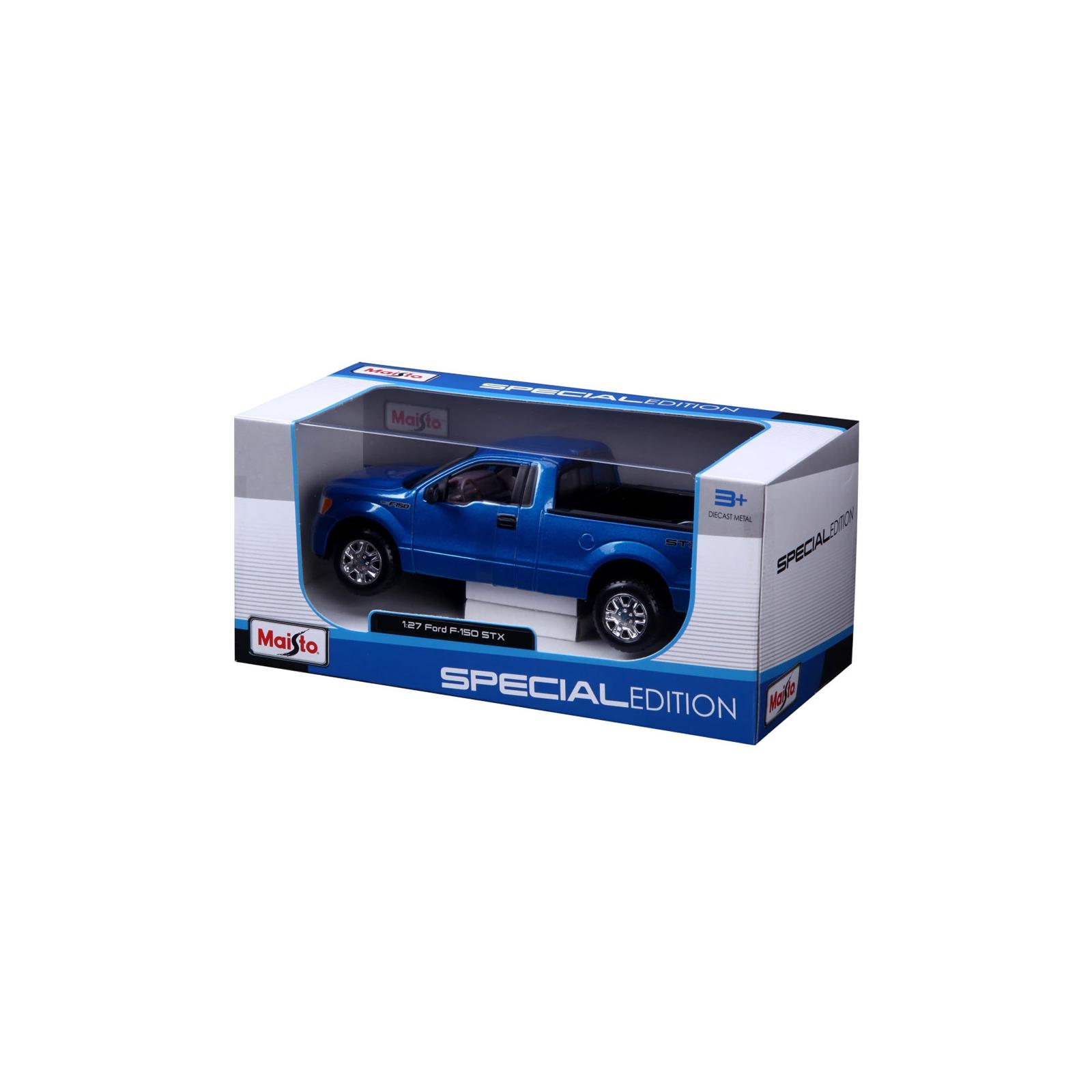Машина Maisto Ford F-150 STX (1:27) синий металлик (31270 met. blue) изображение 4