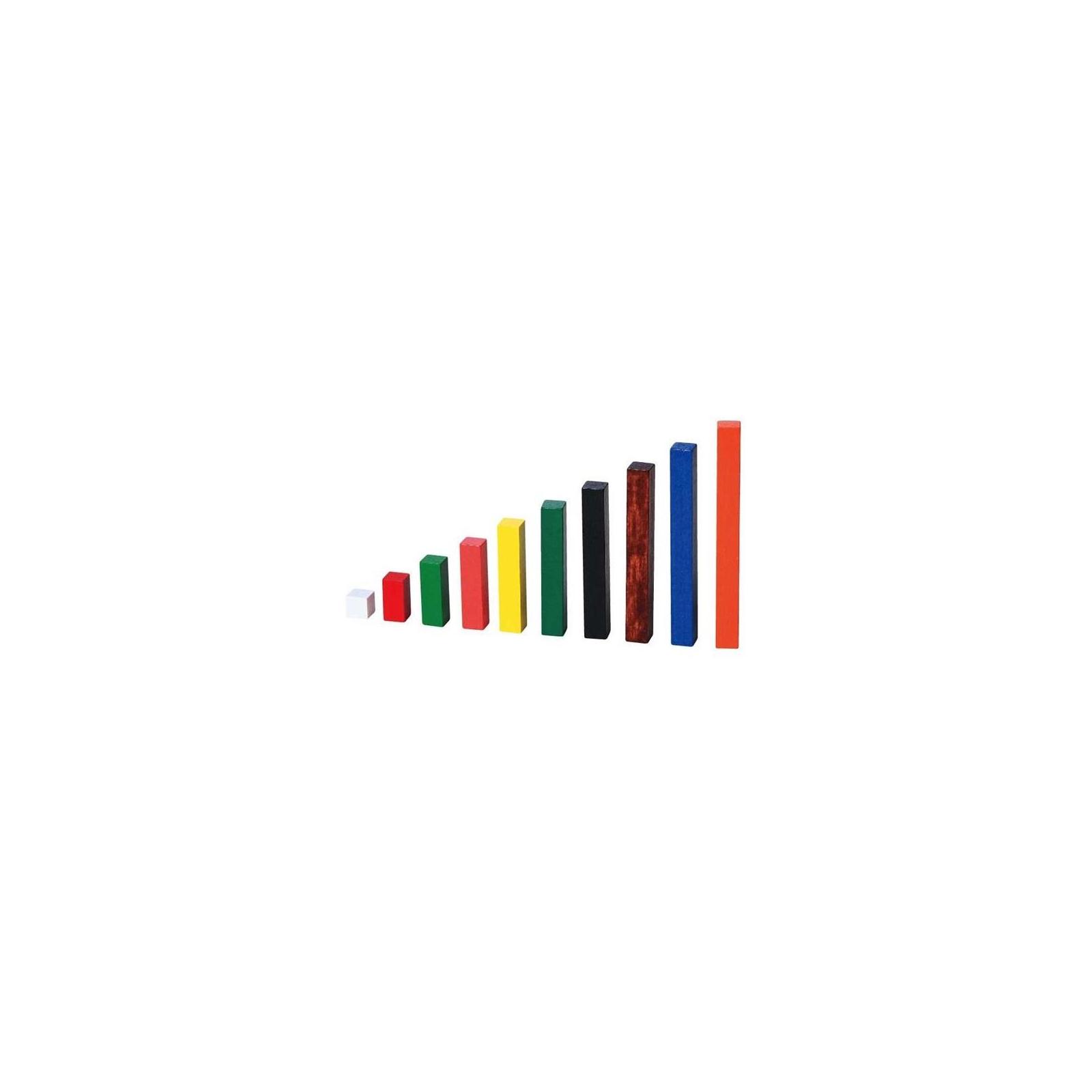 Навчальний набір Viga Toys Математичні блоки (56166) зображення 2