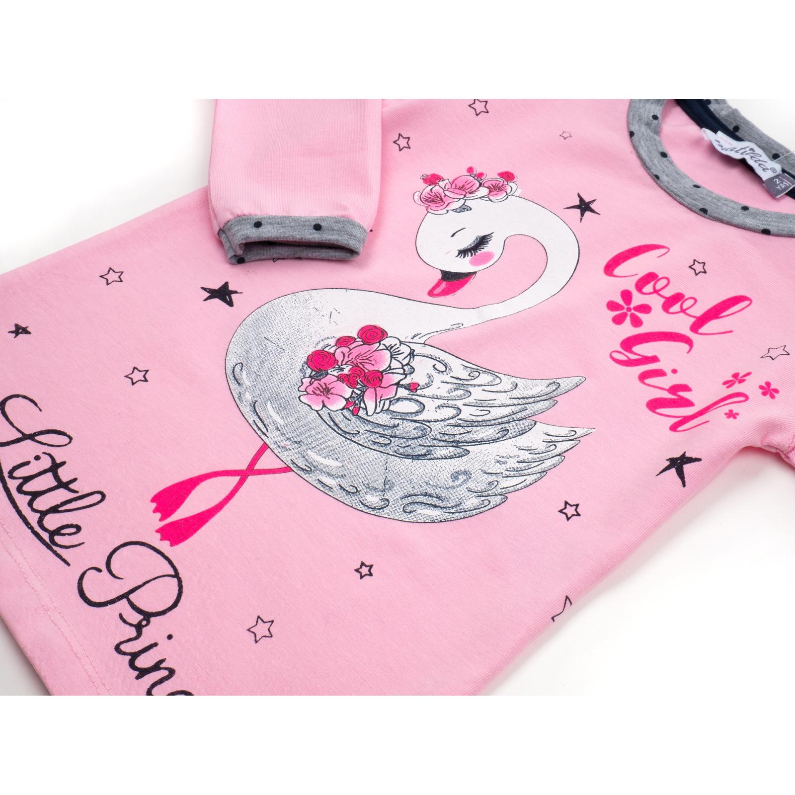 Пижама Matilda с лебедем (10939-2-92G-pink) изображение 7