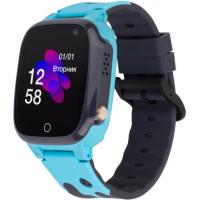 Смарт-часы ATRIX iQ2100 IPS Cam Blue Детские телефон-часы с трекером (iQ2100 Blue)