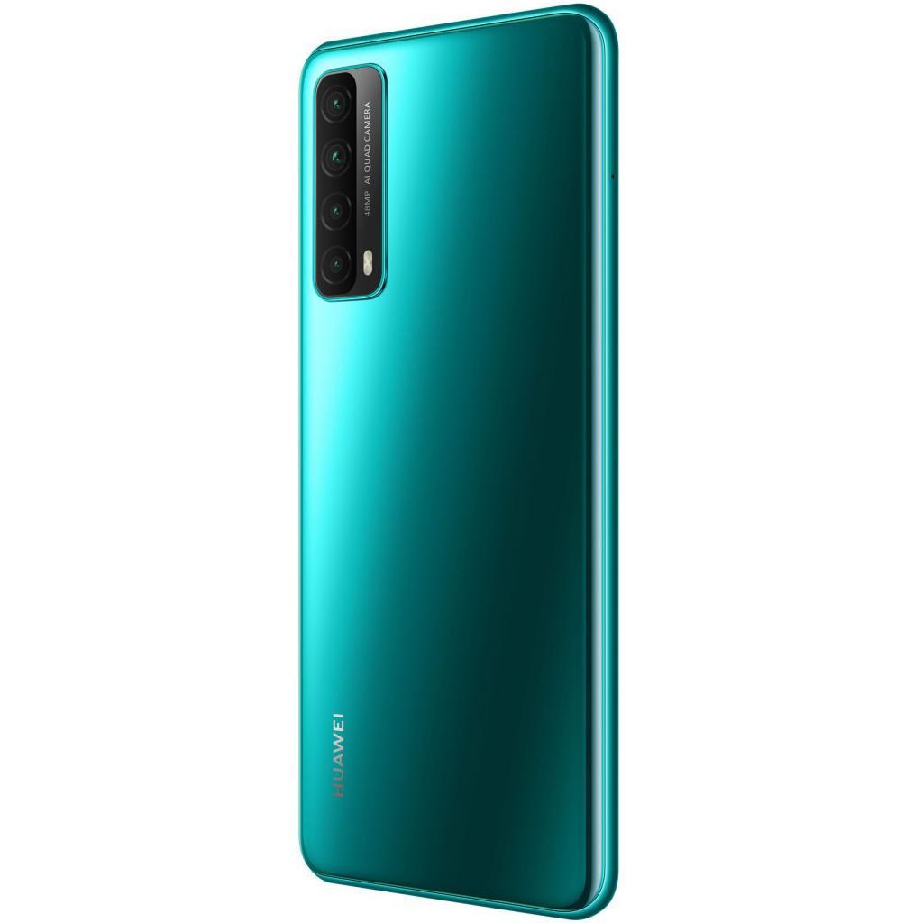Мобільний телефон Huawei P Smart 2021 4/128Gb NFC Crush Green (51096ADV) зображення 7
