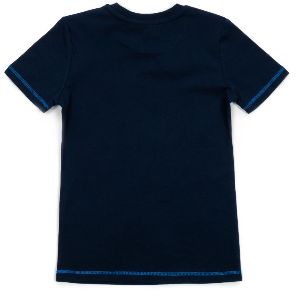 """Футболка детская Breeze """"TRICK"""" (15692-134B-blue) изображение 2"""