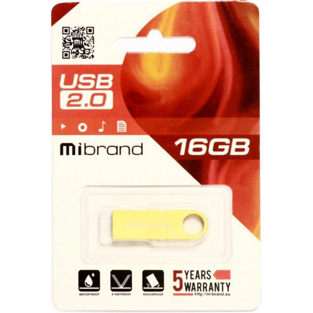 USB флеш накопитель Mibrand 64GB Puma Gold USB 2.0 (MI2.0/PU64U1G) изображение 2