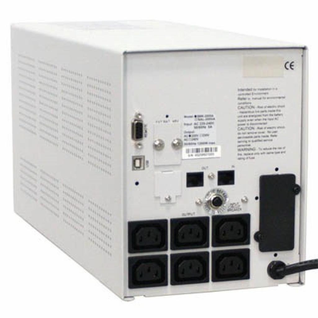 Источник бесперебойного питания SMK-1000A-LCD Powercom (00210038) изображение 2