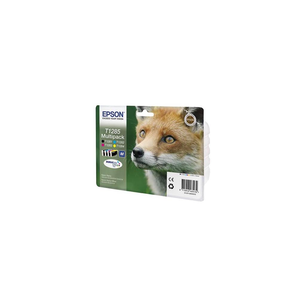 Картридж S22/SX125/420W/425W Bundle EPSON (C13T12854010/C13T12854012)