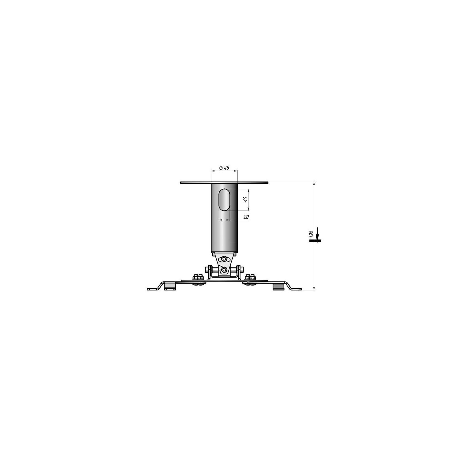 Кронштейн для проектора CMPR-2 KSL изображение 2