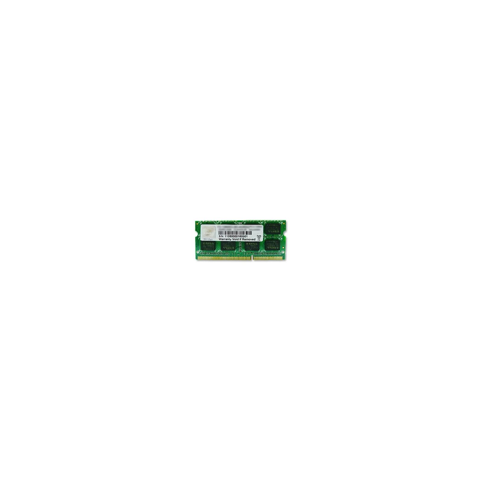 Модуль памяти для ноутбука SoDIMM DDR3 8GB 1333 MHz G.Skill (F3-10666CL9S-8GBSQ)