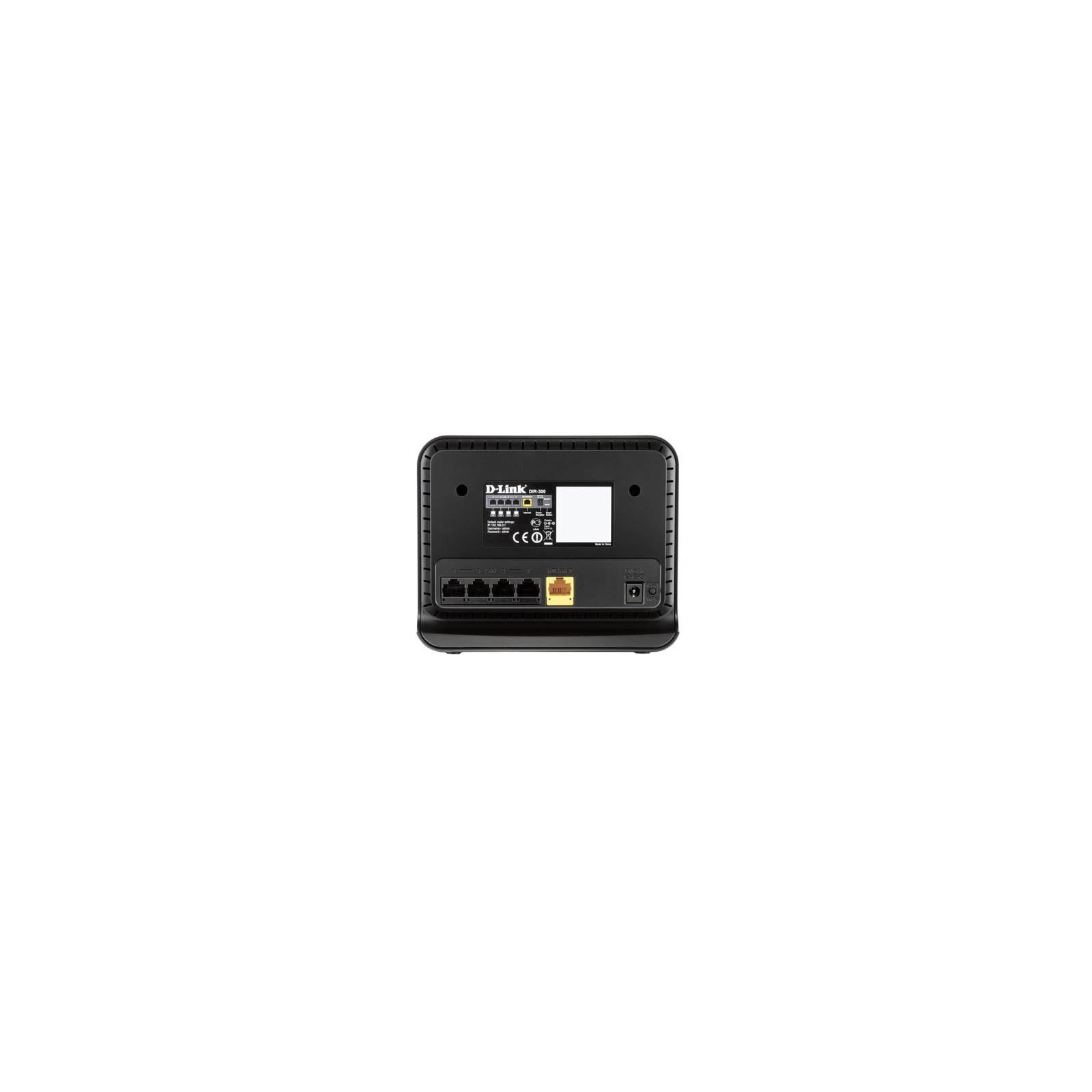 Маршрутизатор D-Link DIR-300/NRU/B7 изображение 2