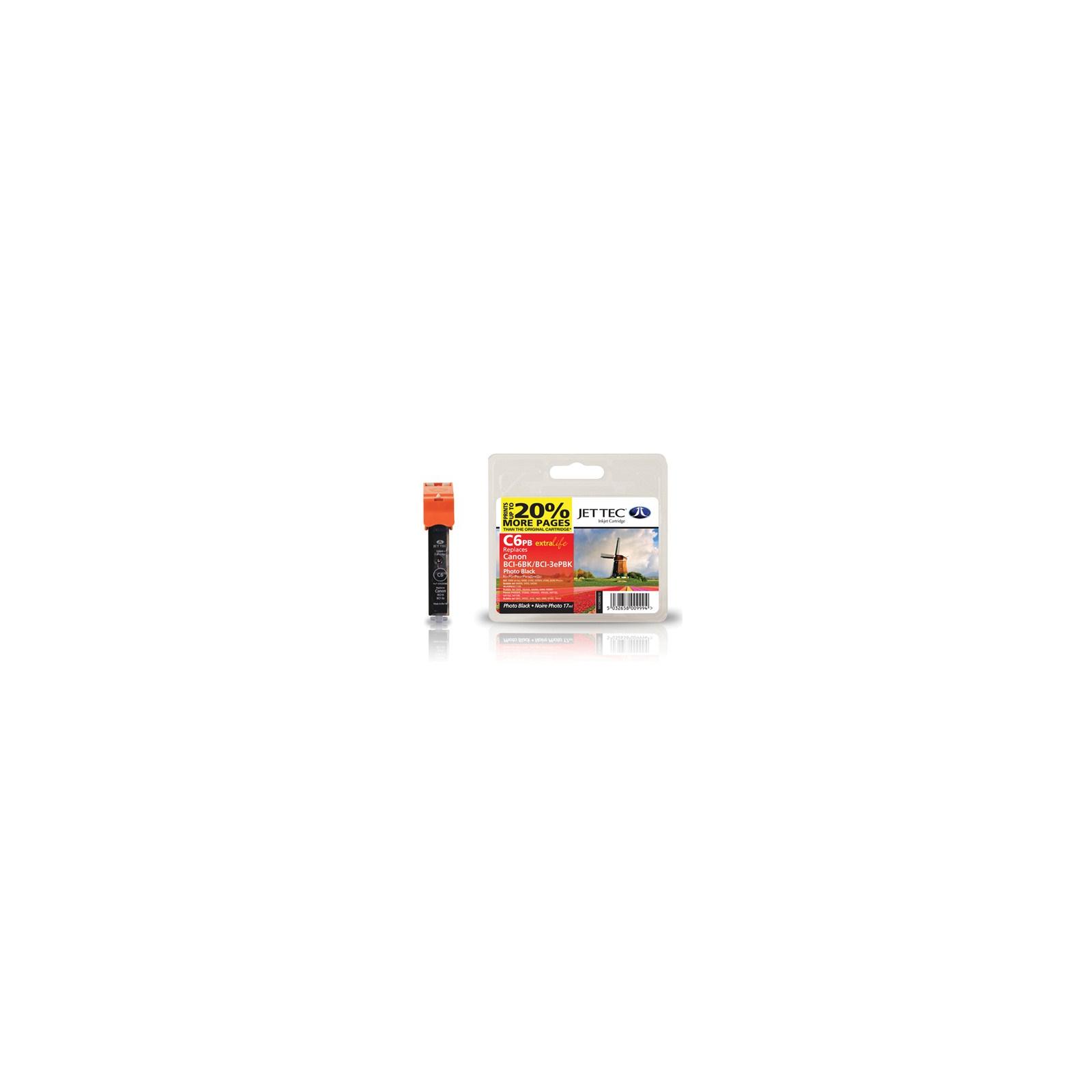 Картридж Jet Tec CANON BCI-3 PhotoBlack/BCI-6 Black (110C000610)