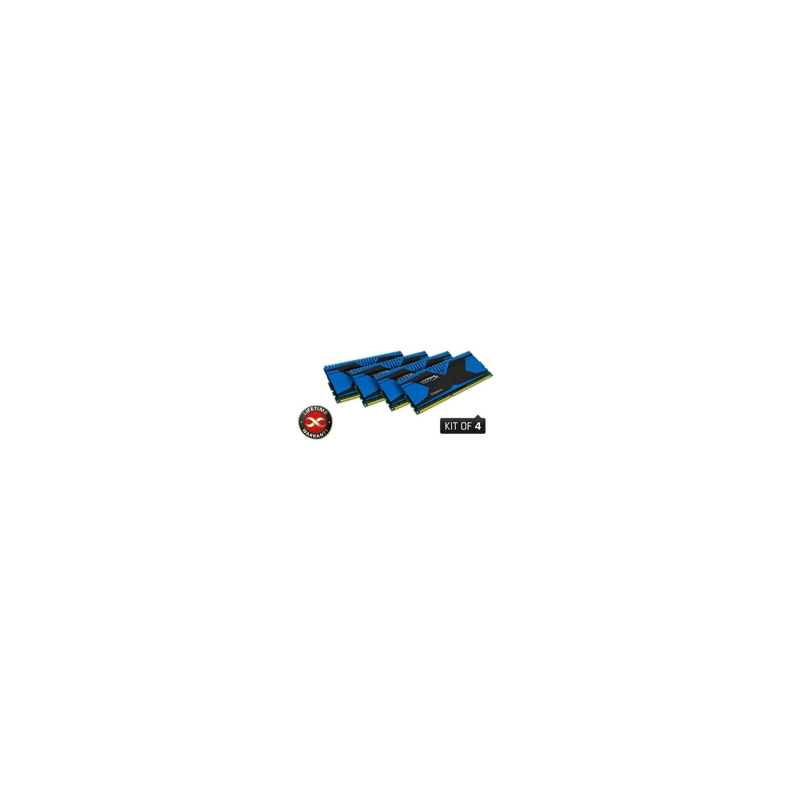 Модуль памяти для компьютера DDR3 32GB (4x8GB) 1600 MHz Kingston (KHX16C9T2K4/32)