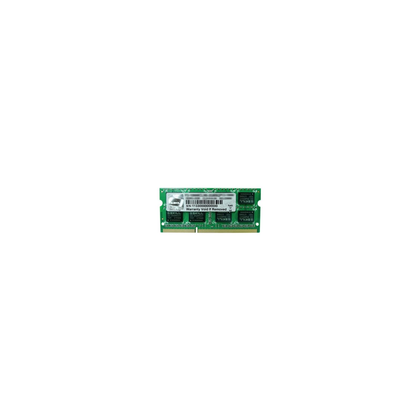 Модуль памяти для ноутбука SoDIMM DDR3 4GB 1600 MHz G.Skill (FA-1600C11S-4GSQ)